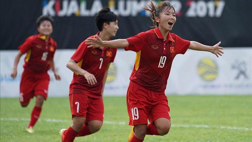 Ngược dòng hạ Philippines 2-1, tuyển nữ Việt Nam vào chung kết Đông Nam Á